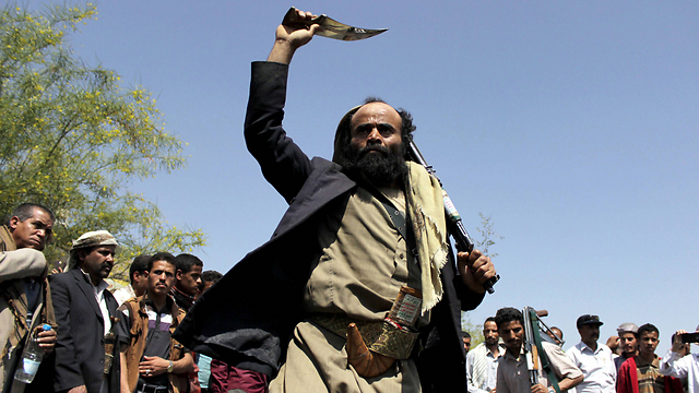 Supporters of Houthi rebellion (Photo: AFP)
