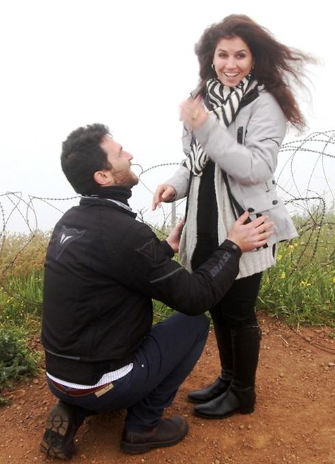 An early-morning proposal (Photo: Alex Gilman)