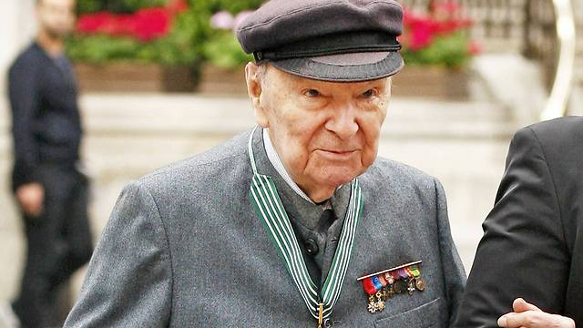 Jean-Louis Cremieux-Brihlac, a Jewish member of the French Resistance, in 2010 (Photo: AP)