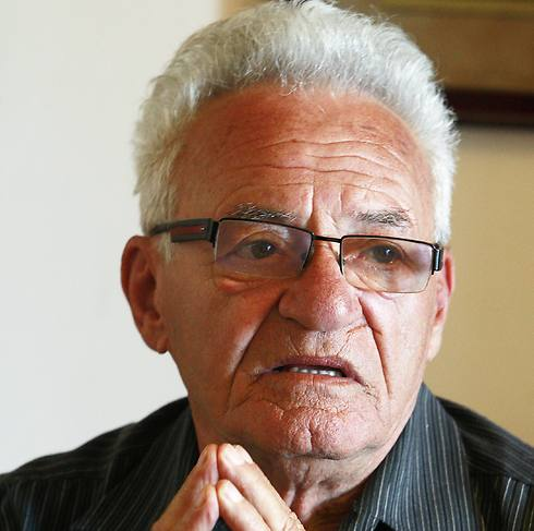 Moshe Tirosh, one of the Jews who hid at the villa as a boy (Photo: AP)