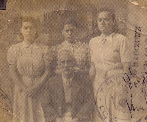 Savas and his daughters
