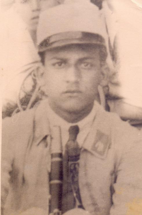 Shoshana's father, Peretz Belleli