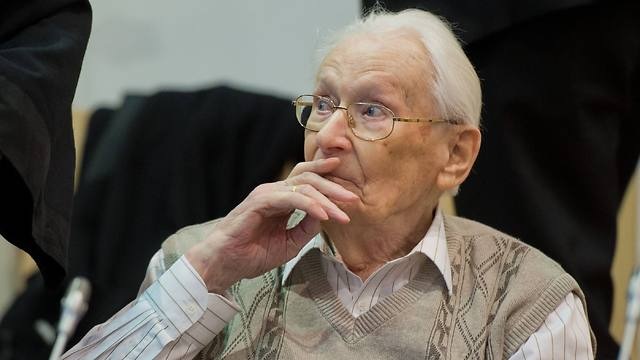 Oskar Groening at court (Photo: AFP)