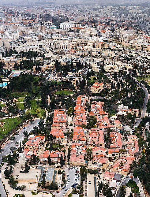 Yemin Moshe neighborhood in Jerusalem. (Photo: Israel Bardugo)
