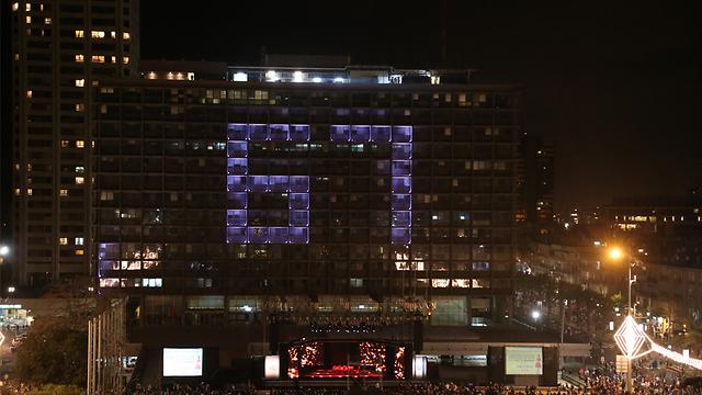 67 שנות עצמאות בכיכר רבין (צילום: מוטי קמחי)