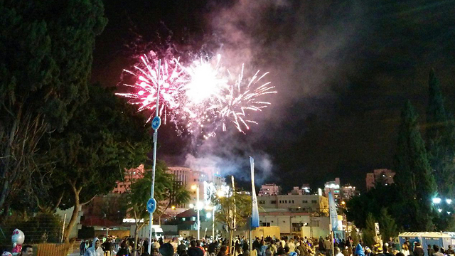 חוגגים 67 שנות עצמאות ברחובות ( צילום: אורן חדד)