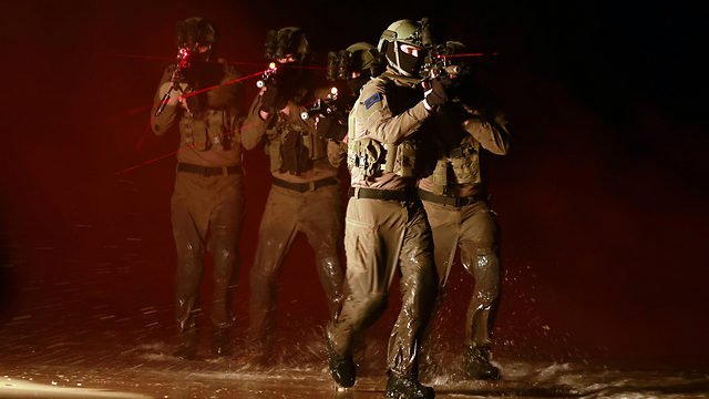 Shayetet 13 combat soldiers (Photo: Gadi Kabalo)