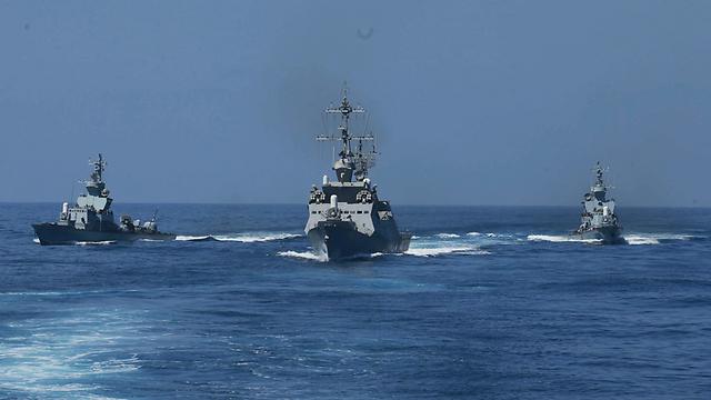 Israeli Navy vessels (Photo: Gadi Kabalo)