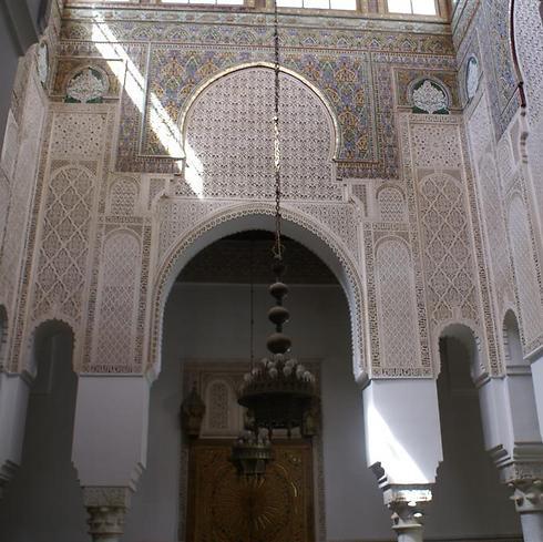 האמנות המרוקנית בתפארתה (צילום: אלפרד תאומים)