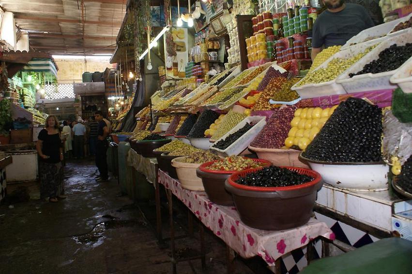 השוק המקומי במרקש (צילום: אלפרד תאומים)