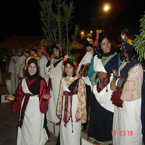 להקת בנות במרקש (צילום: ויקטור מאור)