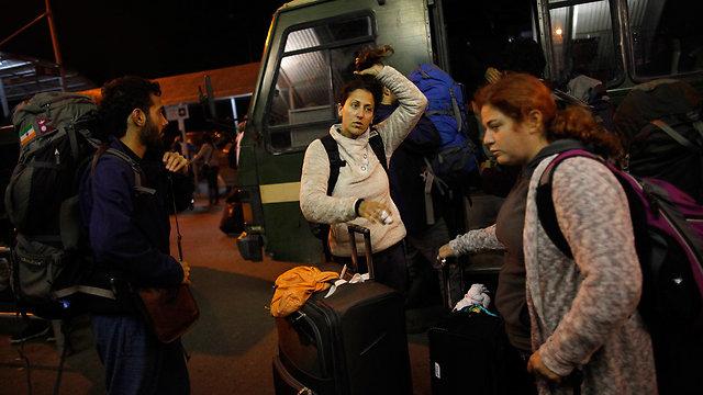 Israelis await flight back home in Nepal (Photo: AP)