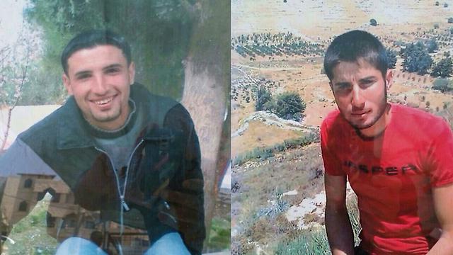 Tair, left, and Nazih Mahmoud