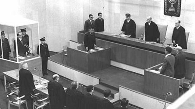 Eichmann's trial.
