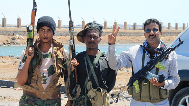 The Houthi rebels deny that they are receiving weapons from Iran (Photo: AFP)
