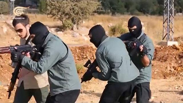 Jihad Mughniyeh training.