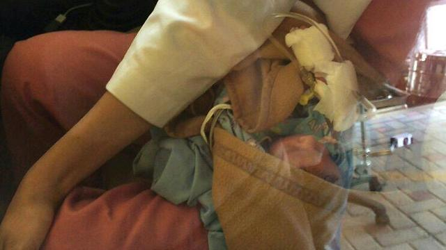 Yoav Elani's baby in Nepal