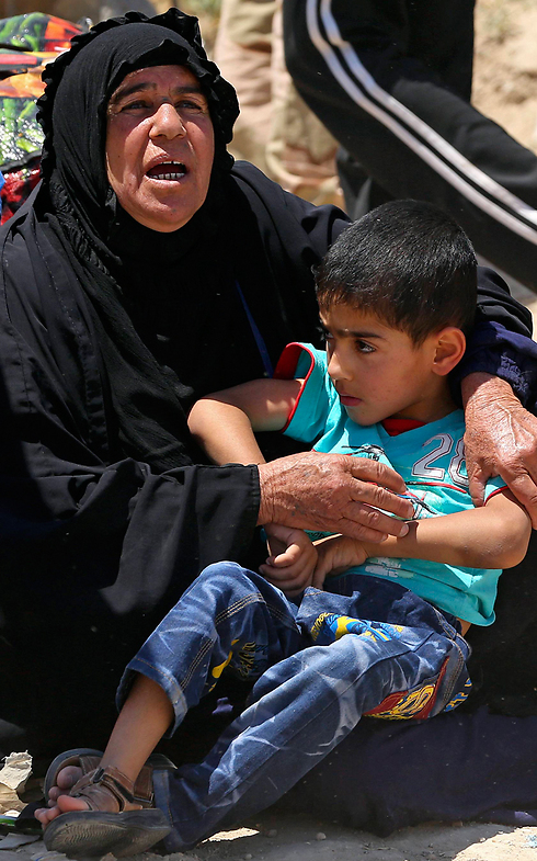 Authorities are concerned that civilians in Ramadi may face a massacre at the hands of IS. (Photo: AP)