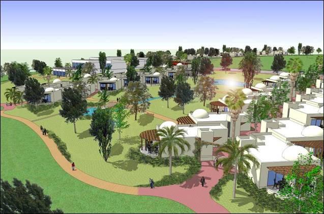 הדמיית התוכנית החדשה (הדמיה: רשות מקרקעי ישראל)