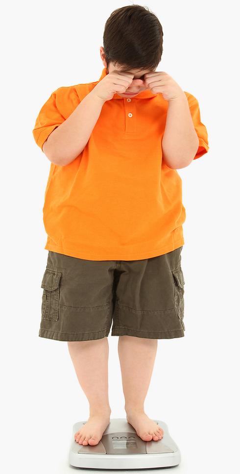 דימוי גוף בעייתי וקשיים חברתיים. השמנת ילדים (צילום: shutterstock)