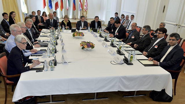 World powers meeting in Vienna for Iran talks (Photo: EPA)