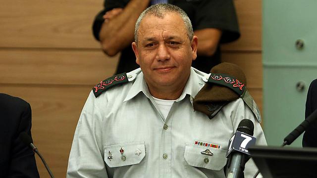 IDF chief Eisenkot (Photo: Gil Yohanan)