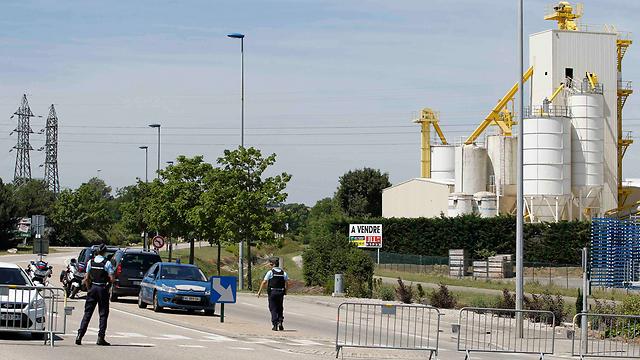 המפעל שבו אירע הפיגוע (צילום: רויטרס)
