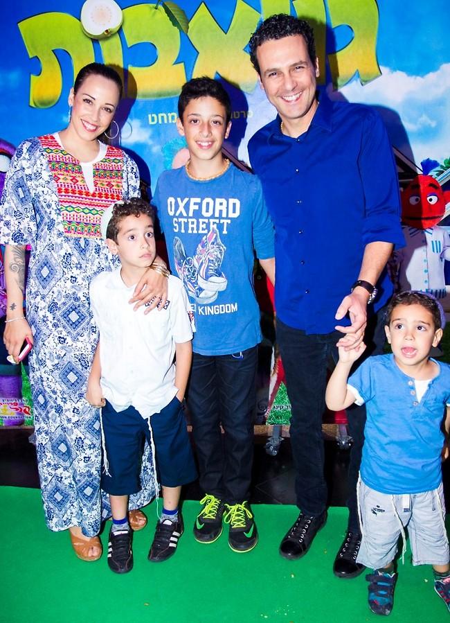 המשפחה המאושרת (צילום: רפי דלויה)
