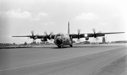 The Israeli Hercules planes knew how to fly in under the radar. (Photo: IDF Spokesperson)