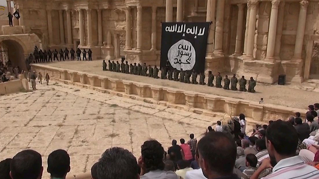 ISIS execution in Syria. The 'new Satan' in the eyes of the West