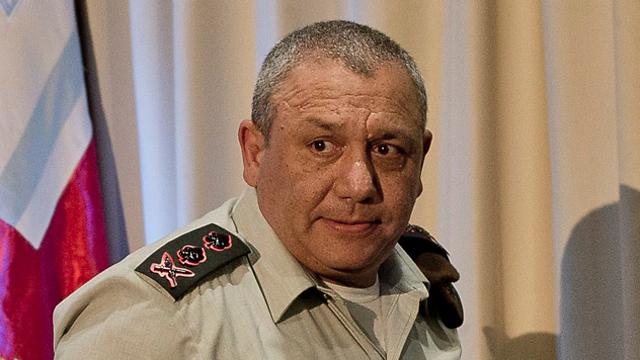 IDF chief Eisenkot (Photo: Yuval Chen)