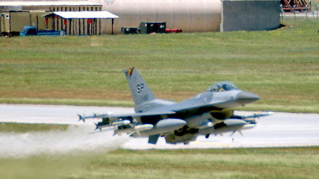 An American jet takes off from a Turkish Air Force base. (Photo: Archive/AFP/USAF) (Photo: AFP/USAF)