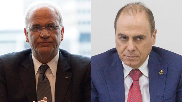 Israeli, Palestinian peace negotiators meet in secret in Jordan