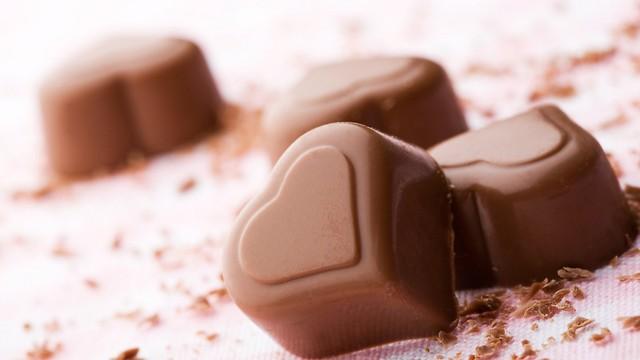 לבבות משוקולד (צילום: shutterstock)