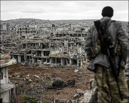 A Kurdish fighter in Syria (Photo: AFP)