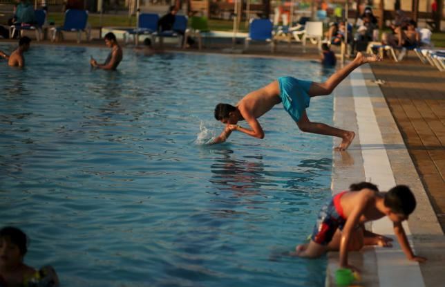 Blue Beach resort Gaza (Photo: Reuters)