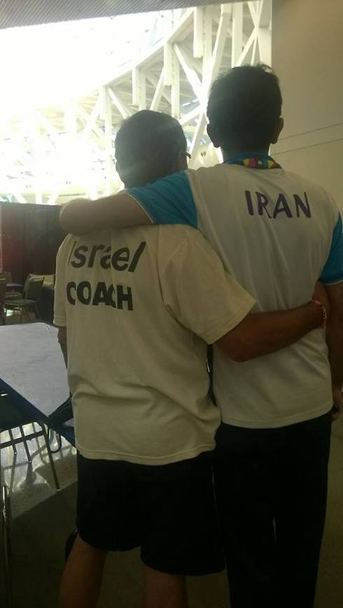 Photo: Special Olympics Israel Facebook page