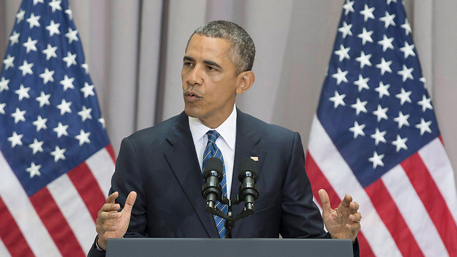 President Obama giving a speach on the Iran deal. (Photo: EPA)
