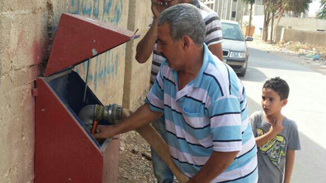 Palestinian villages suffer water shortage at height of summer