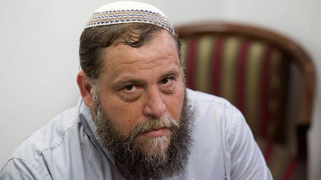 Bentzi Gopstein. 'Like the garbage can of Islam' (Photo: EPA)