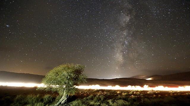 Meteor shower at Mitzpe Ramon (Photo: EPA)