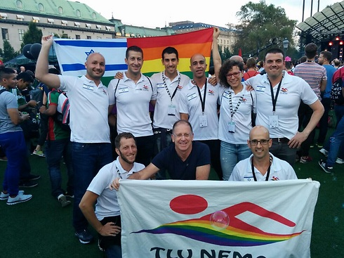 Tel Aviv gay swimming team wins medals at Eurogames in Stockholm