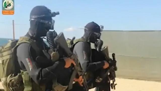 Hamas commandos.