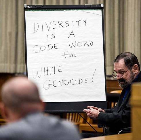 Miller giving his closing arguments (Photo: AP)