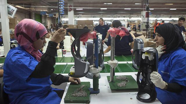 Sodastream's factory in Rahat (Photo: AP)