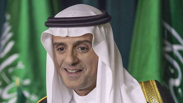 Saudi Foreign Minister Adel Al-Jubeir conducts a news conference inside the Saudi Embassy on Friday (Photo: AFP)