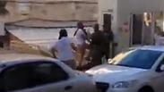 israelis attack Palestinian