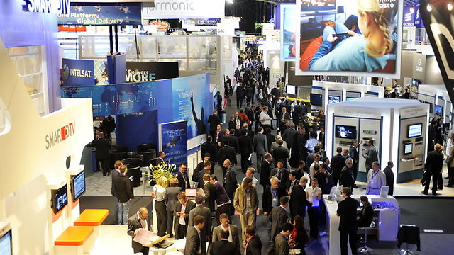 The IBC exhibition in Amsterdam, 2010 (Photo: IBC Facebook)