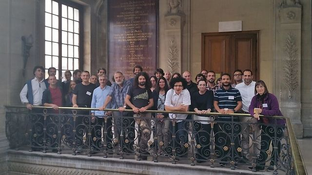 NeuroBridges particpants in Paris (Photo: Ahmed El Hady)