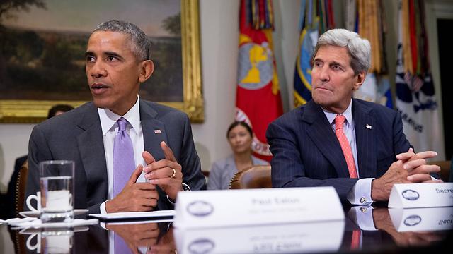 Barack Obama and John Kerry (Photo: AP)